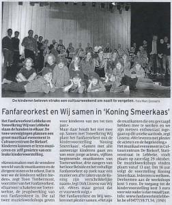 Fanfareorkest en Wij samen in Koning Smeerkaas